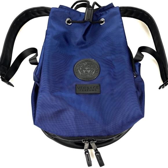 ccc471894d Versace Parfums Lifestyle Backpack Bag NEW. NWT. Versace.  M 5bb656e79fe486be16243a14. M 5bb656e7df0307ff798770eb.  M 5bb656e79539f7b43718fec4